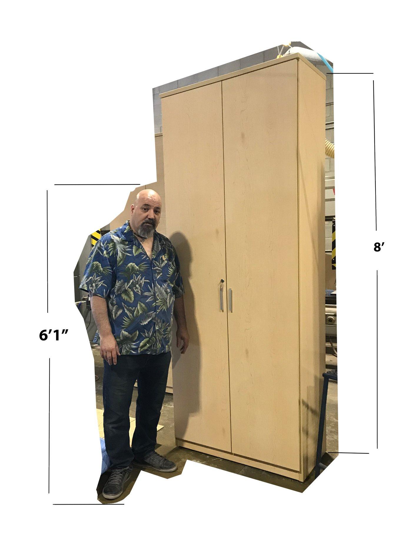 Custom 8 foot cabinet