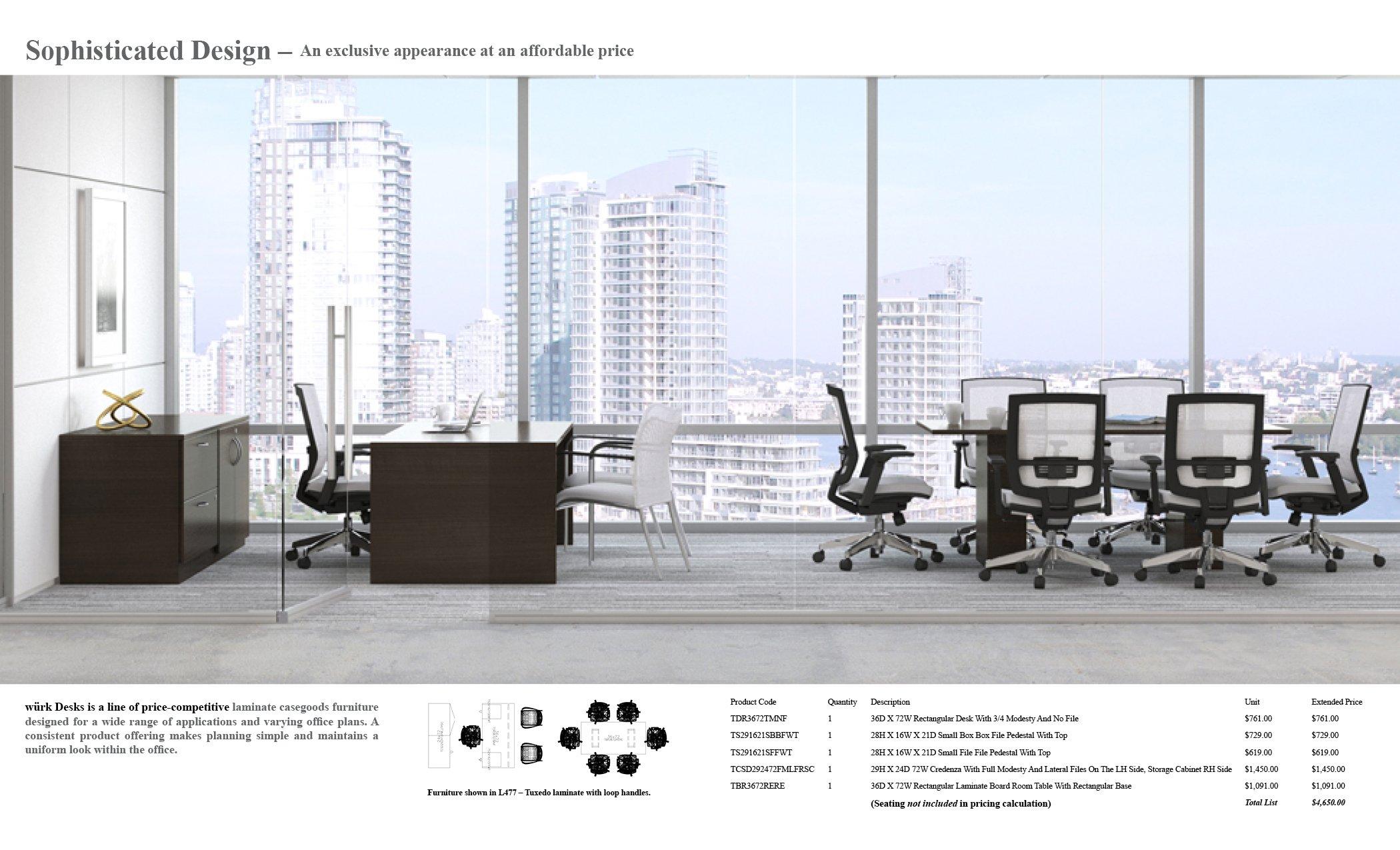 würk Desks 2018EM12