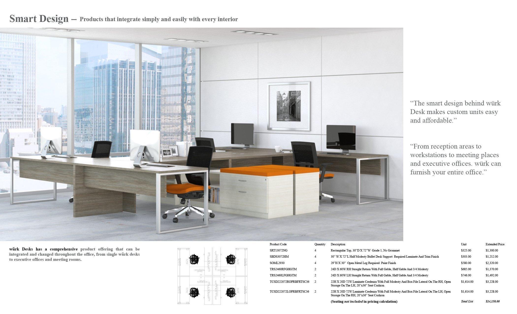 würk Desks 2018EM16