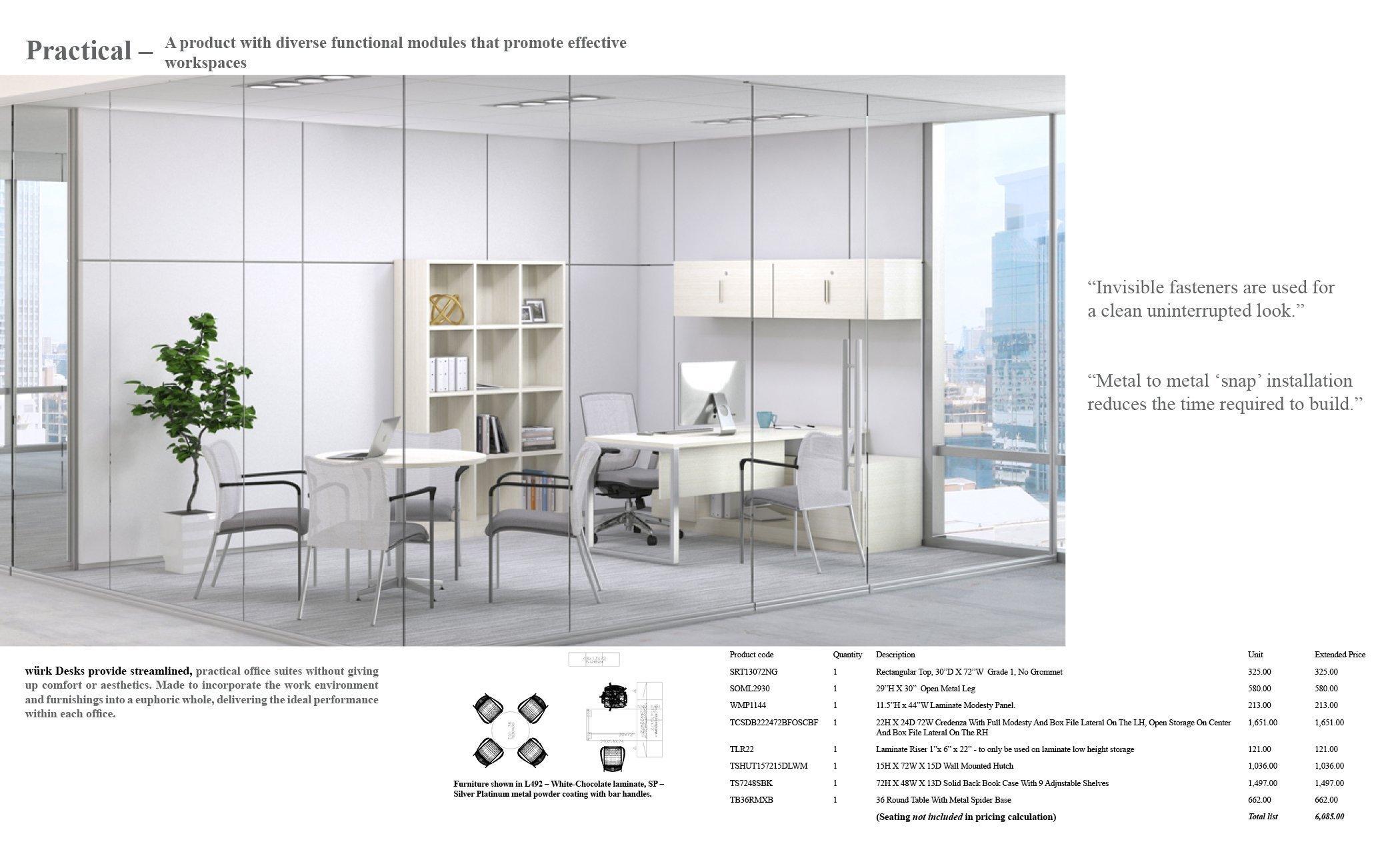 würk Desks 2018EM35