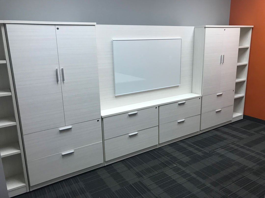 Office furniture-wall-unit