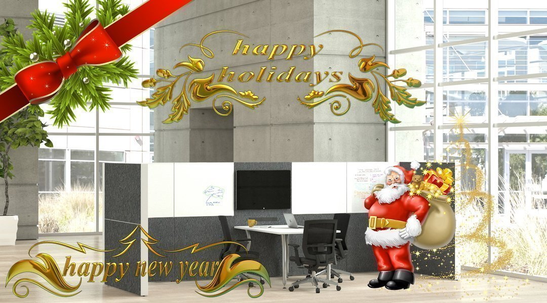 office furniture holiday image