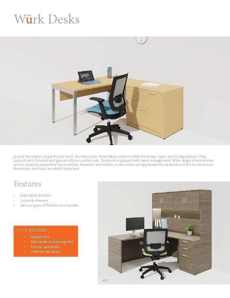 Wurk Desks Page 1